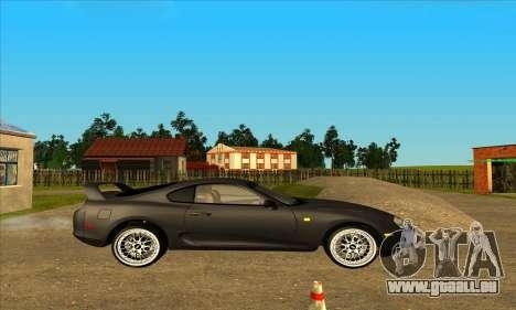 Toyota Supra Lambo pour GTA San Andreas laissé vue
