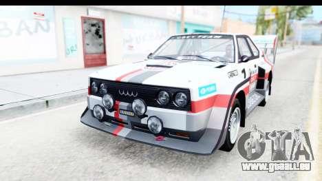 GTA 5 Obey Omnis IVF pour GTA San Andreas roue