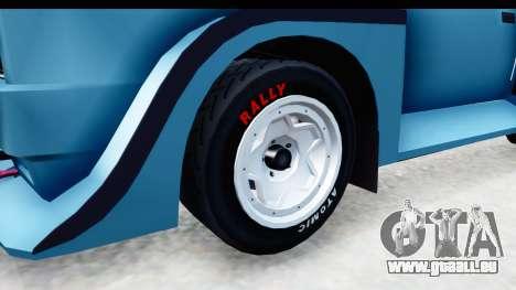 GTA 5 Obey Omnis pour GTA San Andreas vue arrière