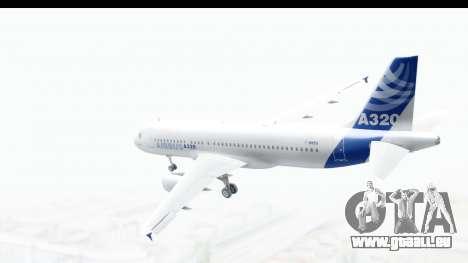 Airbus A320-200 Industrie MSN 1 2005 - 2012 pour GTA San Andreas laissé vue