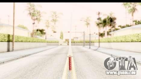 Bleach - Rukia Weapon pour GTA San Andreas deuxième écran