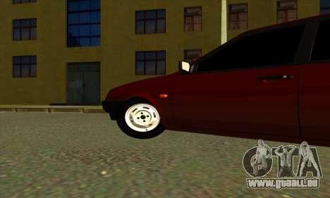 2109 für GTA San Andreas Rückansicht
