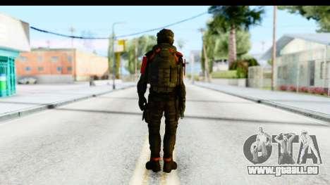 Homefront The Revolution - KPA v1 Black pour GTA San Andreas troisième écran