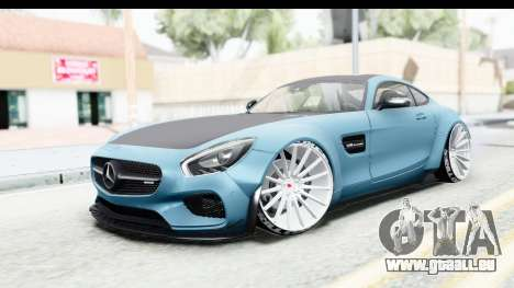 Mercedes-Benz AMG GT Prior Design für GTA San Andreas