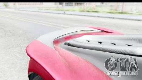 GTA 5 Pfister 811 with Mip Map pour GTA San Andreas vue arrière