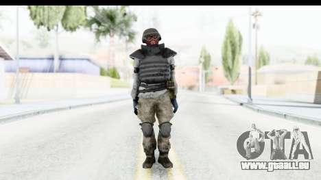 The Division Last Man Battalion - Grenadier pour GTA San Andreas deuxième écran