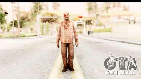 Left 4 Dead 2 - Zombie Shirt 2 für GTA San Andreas zweiten Screenshot