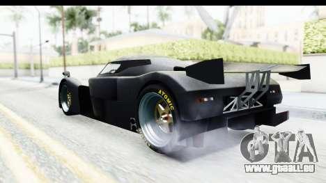 GTA 5 Annis RE7B für GTA San Andreas zurück linke Ansicht