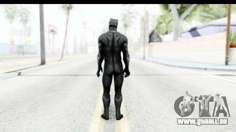 Marvel Heroes - Black Phanter (Civil War) pour GTA San Andreas troisième écran