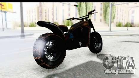 GTA 5 Western Gargoyle Custom v1 für GTA San Andreas linke Ansicht