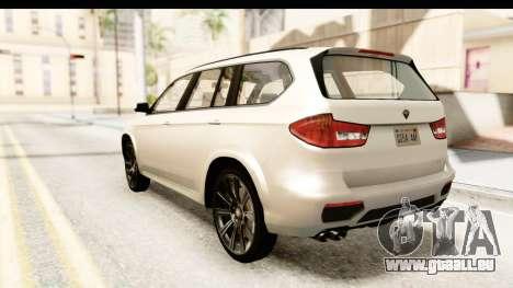 GTA 5 Benefactor XLS SA Style für GTA San Andreas linke Ansicht