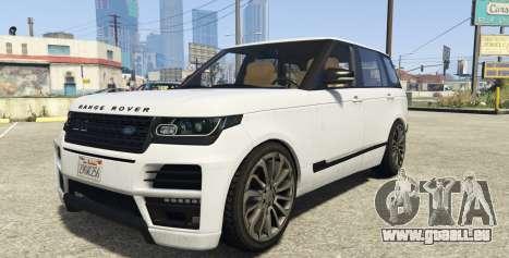 Land Rover Range Rover Startech für GTA 5