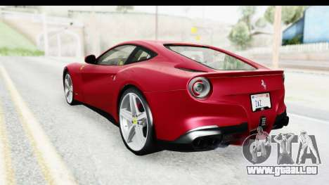 Ferrari F12 Berlinetta 2014 für GTA San Andreas linke Ansicht