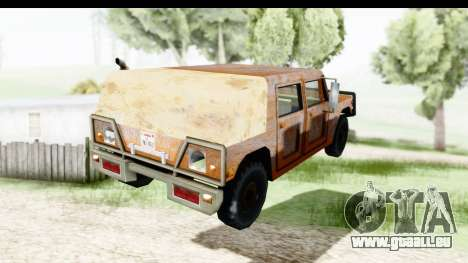 Rusted Patriot für GTA San Andreas linke Ansicht
