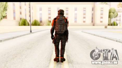 Homefront The Revolution - KPA v2 Black für GTA San Andreas dritten Screenshot