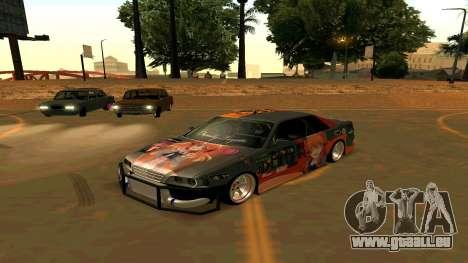Toyota Chaser für GTA San Andreas