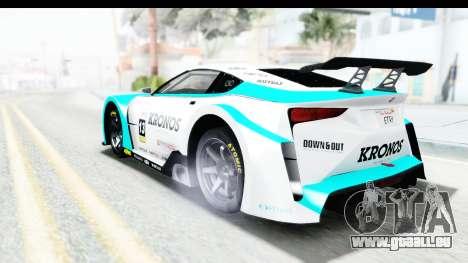 GTA 5 Emperor ETR1 v2 IVF für GTA San Andreas Innen