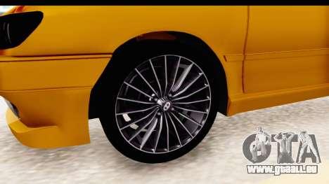 Peugeot 306 GTI pour GTA San Andreas vue arrière