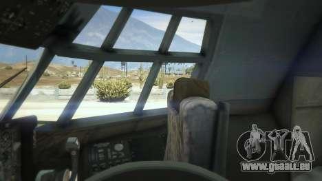 GTA 5 AC-130U Spooky II Gunship sixième capture d'écran