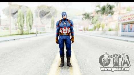 Marvel Heroes - Capitan America CW pour GTA San Andreas deuxième écran