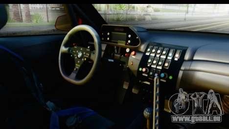 BMW M235i HGK pour GTA San Andreas vue intérieure