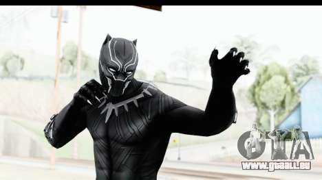 Marvel Heroes - Black Phanter (Civil War) pour GTA San Andreas