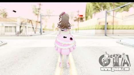 CGSS - Uzuki Peacefull Dance Rilaneko pour GTA San Andreas troisième écran