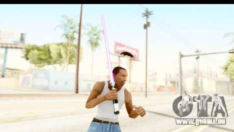 Sword Art Online II - Kiritos Saber für GTA San Andreas dritten Screenshot