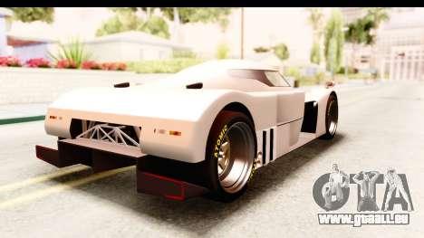 GTA 5 Annis RE-7B für GTA San Andreas linke Ansicht