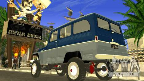 Jeep Station Wagon 1959 für GTA San Andreas linke Ansicht