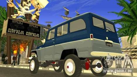 Jeep Station Wagon 1959 pour GTA San Andreas laissé vue