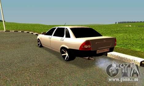 Lada Priora für GTA San Andreas rechten Ansicht