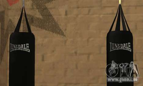 LonsDale Boxsack für GTA San Andreas her Screenshot