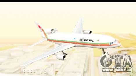 Lockheed L-1011-100 TriStar TAP Portugal für GTA San Andreas zurück linke Ansicht