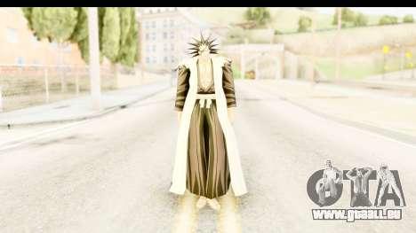 Bleach - Zaraki pour GTA San Andreas deuxième écran