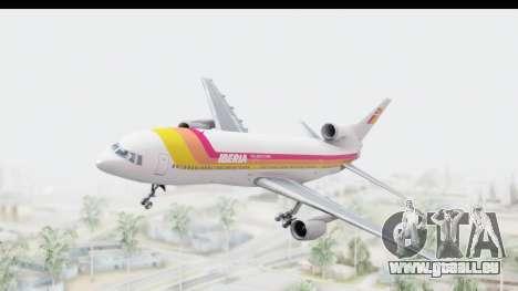 Lockheed L-1011-100 TriStar Iberia für GTA San Andreas zurück linke Ansicht