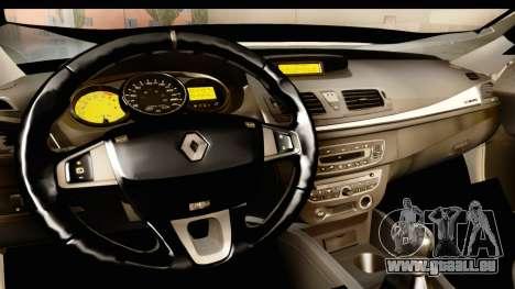Renault Fluence v2 für GTA San Andreas Innenansicht