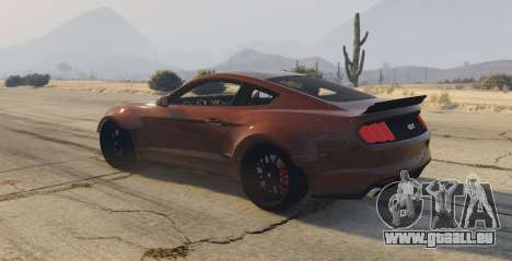 GTA 5 Ford Mustang GT Premium HPE750 Boss linke Seitenansicht