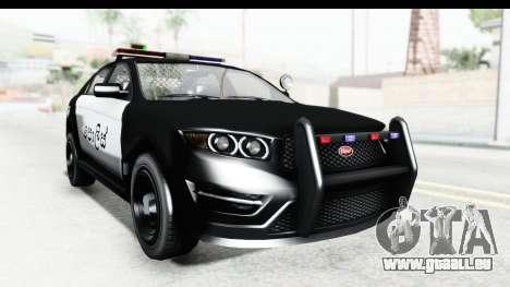 Sri Lanka Police Car v1 für GTA San Andreas