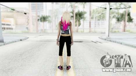 Summer Ombre Hair pour GTA San Andreas troisième écran