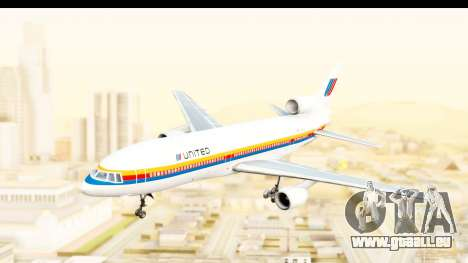 Lockheed L-1011-100 TriStar United Airlines für GTA San Andreas