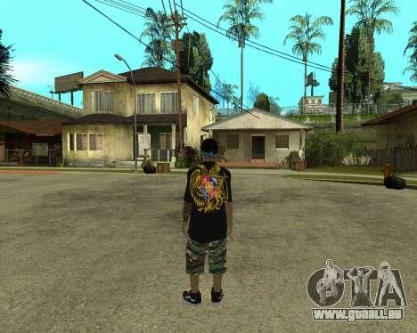 New Armenian Skin pour GTA San Andreas deuxième écran