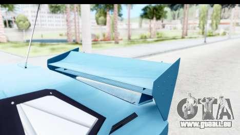 GTA 5 Obey Omnis pour GTA San Andreas vue intérieure