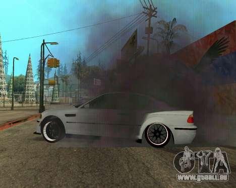 BMW M3 Armenian pour GTA San Andreas roue