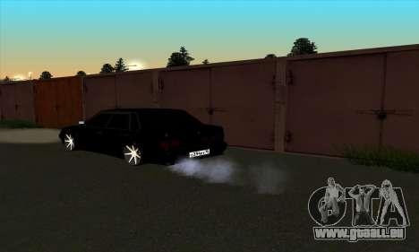 2115 pour GTA San Andreas vue arrière