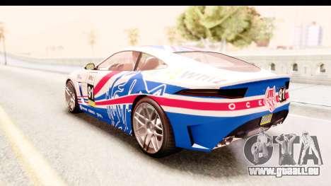 GTA 5 Ocelot Lynx für GTA San Andreas Unteransicht