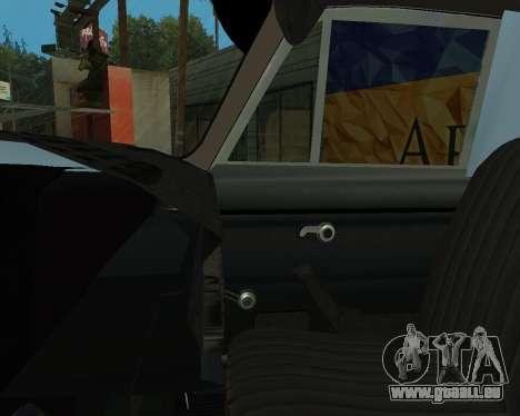 Moskvich 2715 Arménien pour GTA San Andreas salon