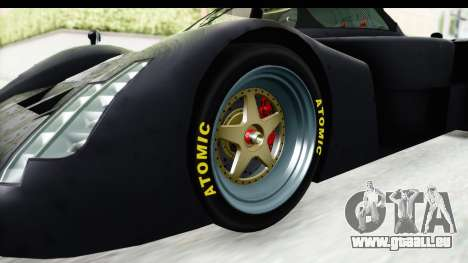 GTA 5 Annis RE7B für GTA San Andreas Rückansicht