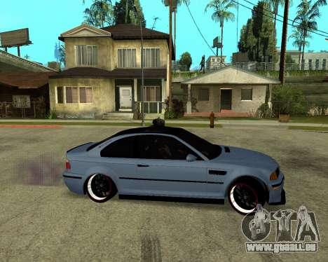 BMW M3 Armenian für GTA San Andreas zurück linke Ansicht
