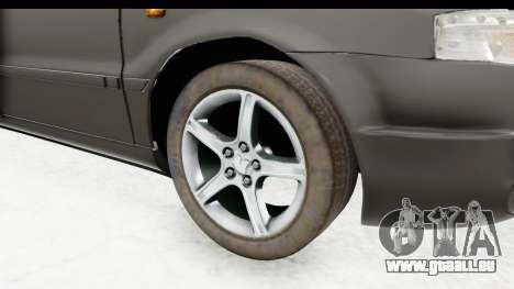 Ikco Samand Pickup v1 für GTA San Andreas Rückansicht